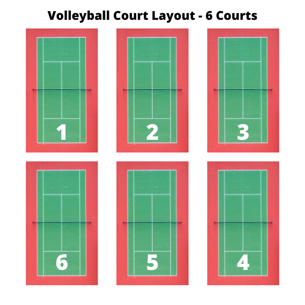 new berlin volleyball courts